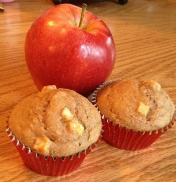 Cinnamon Apple Muffins - low cal - DELICIOUS! and moist!