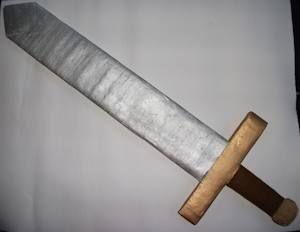 How to Make a Cardboard Sword