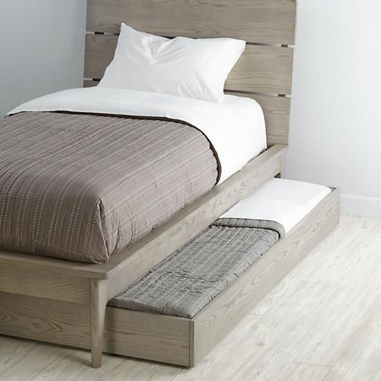 Wrightwood Trundle Bed    The Land of Nod