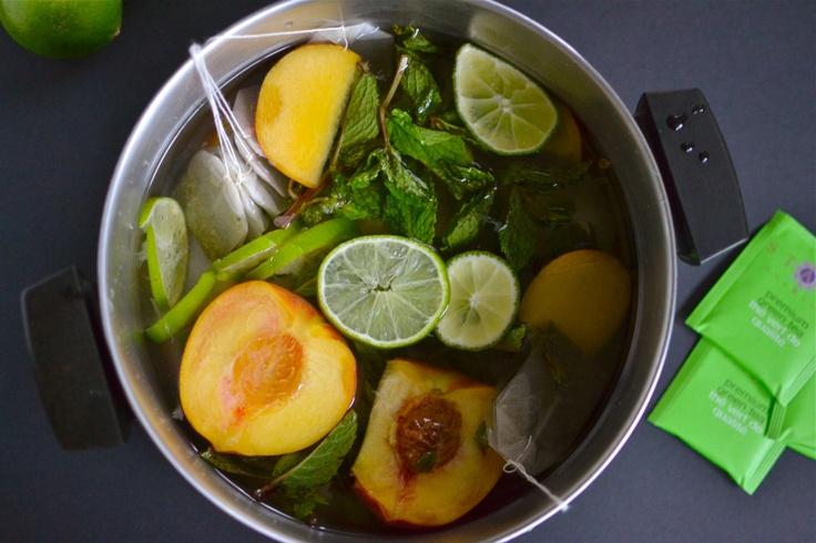 Mojito Iced Green Tea | Health | Pinterest