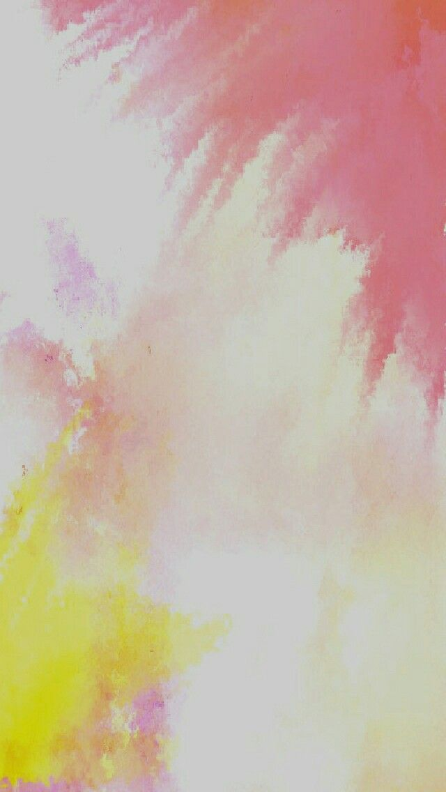 Iphone or Android wallpaper Background Color Splash Version Red and Yellow Ombre