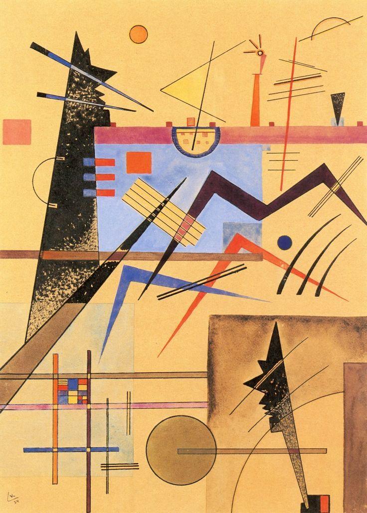 'Grey-Grey-Brown No. 138' - (1924) - Wassily Kandinsky.