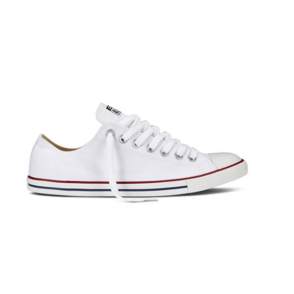 Chuck Taylor Lean Ox in White Canvas