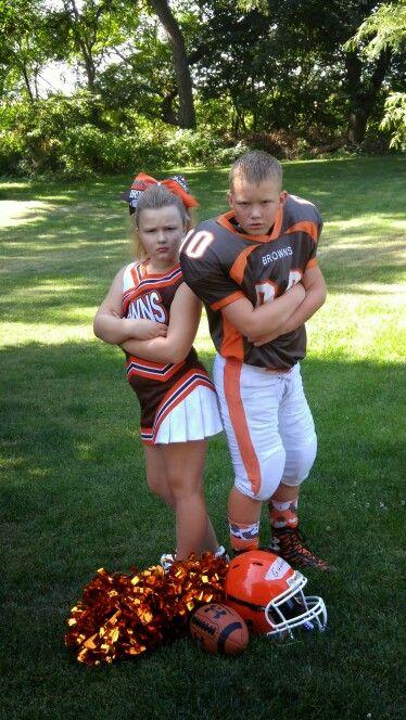Sibling Football Cheer