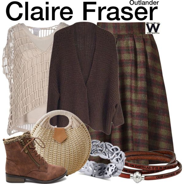 Inspired by Caitriona Balfe as Claire Fraser on Outlander.