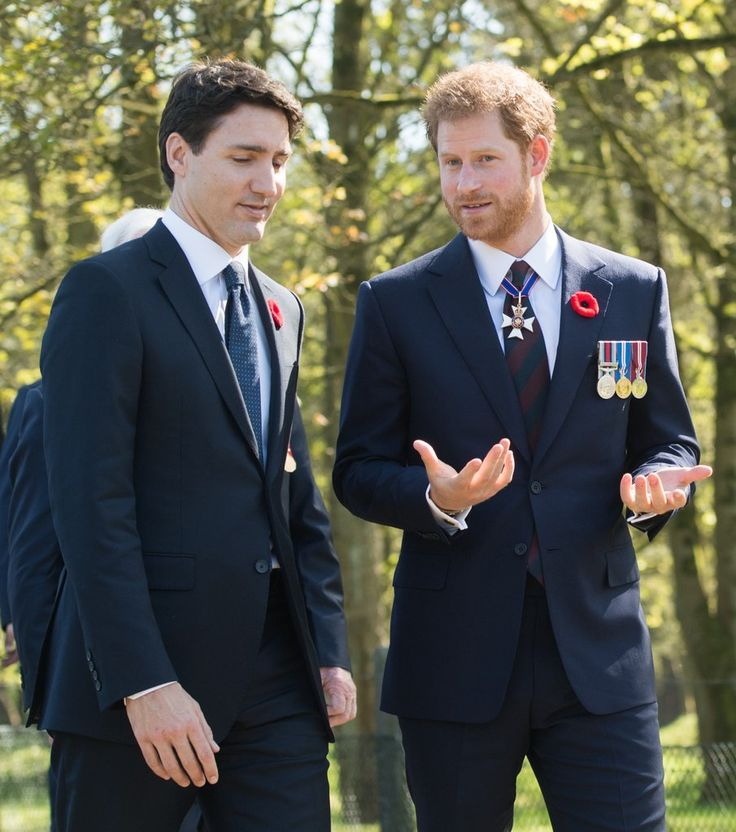 Prince William and Prince Harry at Anniversary of Vimy Ridge | POPSUGAR Celebrity