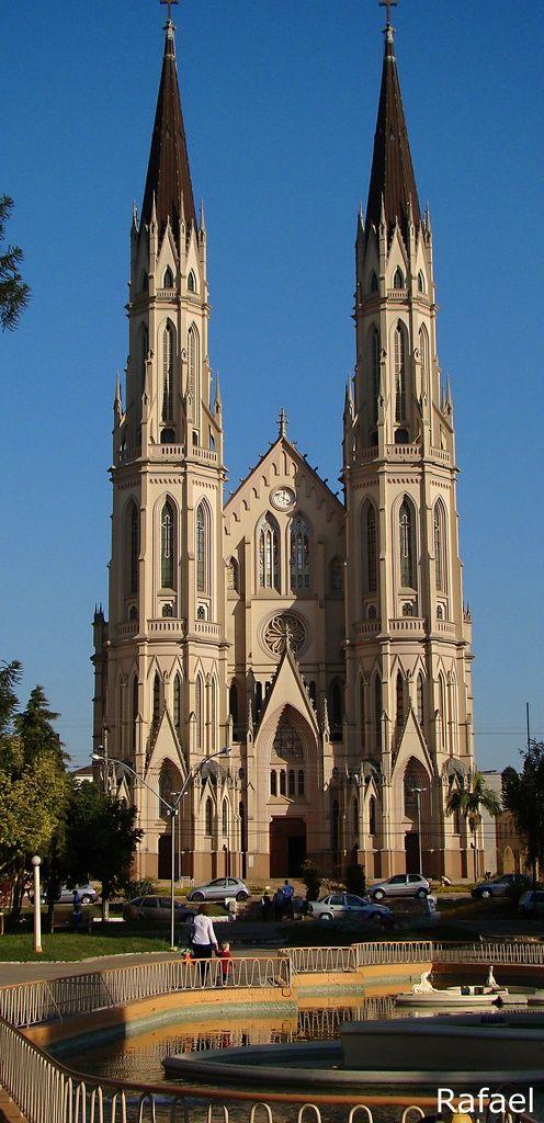 Catedral São João Batista - Santa Cruz do Sul - rio Grande do sul - Brasil