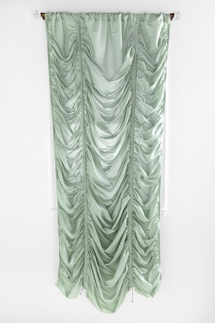 Ho how to tie balloon curtains - Drawstring Ruched Balloon Shade 49 99 Curtains Also Comes In Grey
