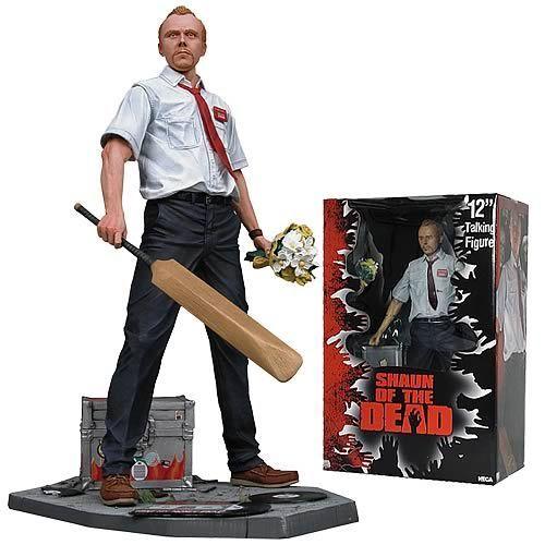 L'action figure di Shaun of Dead rientra sempre nella lista dei regali assai graditi. L'action figure in generale è un oggetto che mi piace. non ha un fine specifico se non quello di rappresentare un personaggio del film o dei fumetti, ma è scenico e la cura dei suoi dettagli mi affascina sempre.