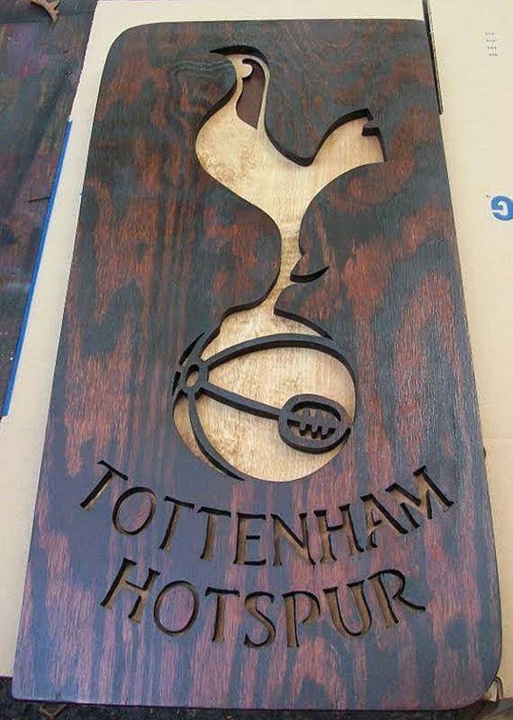Tottenham Hotspur wooden sign