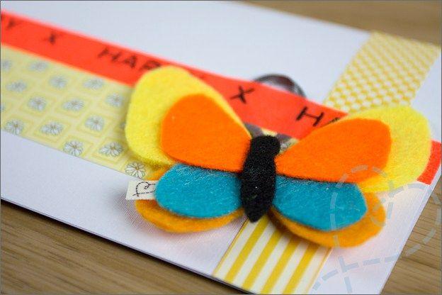 Vlinder vilt kaart