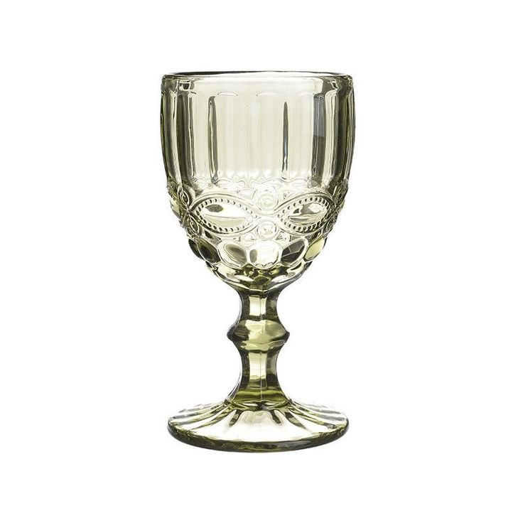 Wine Glass Set Of 6 Pieces - inart