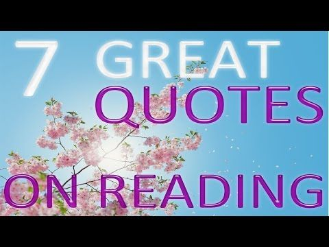 7 Great Quotes on The Importance of Reading Books - (Moreinfo on: https://1-W-W.COM/quotes/7-great-quotes-on-the-importance-of-reading-books/)