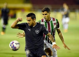 Blog Esportivo do Suíço: Campeonato Carioca 2016 - Taça Guanabara - 1ª Rodada: Fluminense reage no fim e arranca empate com Botafogo