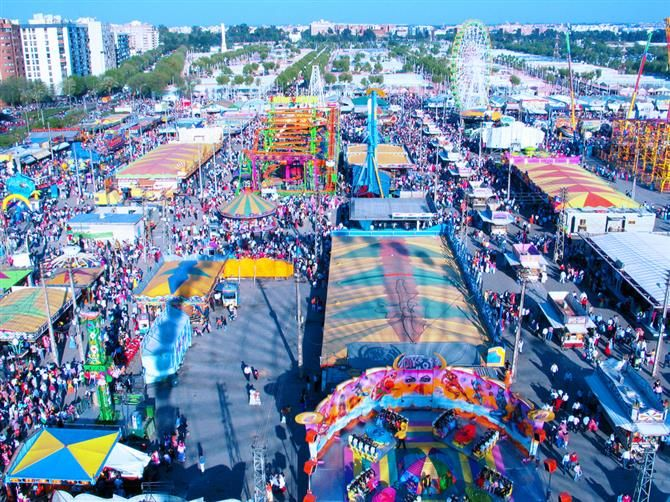 PAAAAAAAARTY!!!!!! Sevilla - Feria de Abril - Recinto Ferial