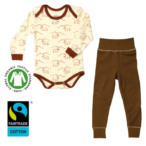 www.klappi.se #Ekologiskabarnkläder från #Lappland #norrland. #eko #ekoreko #ekologisk #svenskdesign #ekokläder #giftfritt #kläppi #klappi.se Product: #body #Reindeer #pants #brown #Lapland. #eco #oekotex100 #lovefromlapland #swedishlapland #fairtrade #organiccotton #organic #scandinavian #schwedischen #organickidswear #kidsfashion #sustainablefashion #sustainable #gots #swedish #swedishdesign #swedishbrand