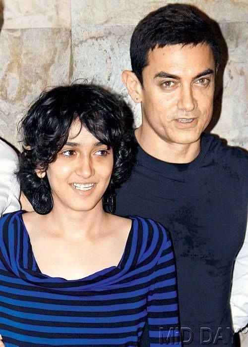 aamir khan with his daughter