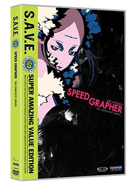 Monica Rial & Christopher R. Sabat & Kunihisa Sugishima & Christopher Bevins-Speed Grapher: Complete Series S.A.V.E.