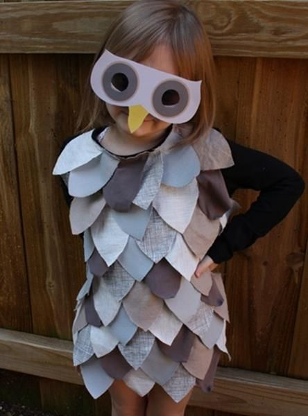 Детский костюм птицы