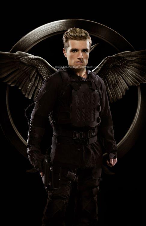 Hunger Games : Peeta -> Josh Hutcherson ♡❤