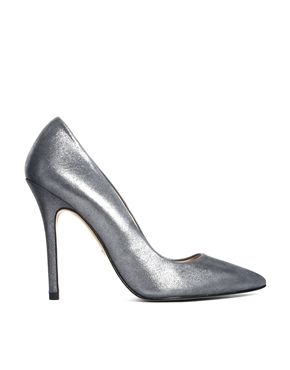Image 1 ofWhistles French 75 Metallic Court Shoes