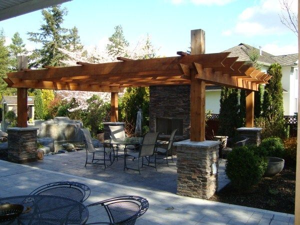 145 Best Images About Outdoor Fireplace Designs On Pinterest