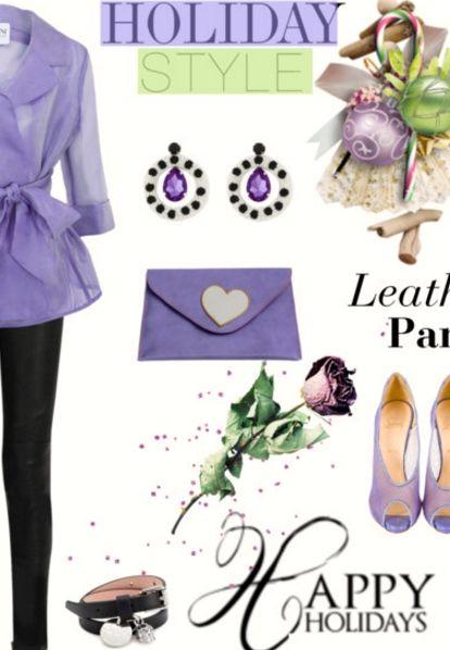 Ecco come si può rendere utile il portatutto lilla di BbD! Here is how the purple carryall can be useful! https://www.etsy.com/…/pochette-lilla-in-pelle-con-il-cuore… #BorsebyD