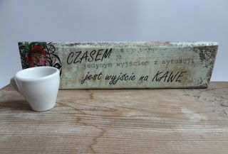 Biżuteria artystyczna... wnętrza, dodatki, scrapbooking...wciąż rośnie...Balsam Tree: Idziesz na kawę?