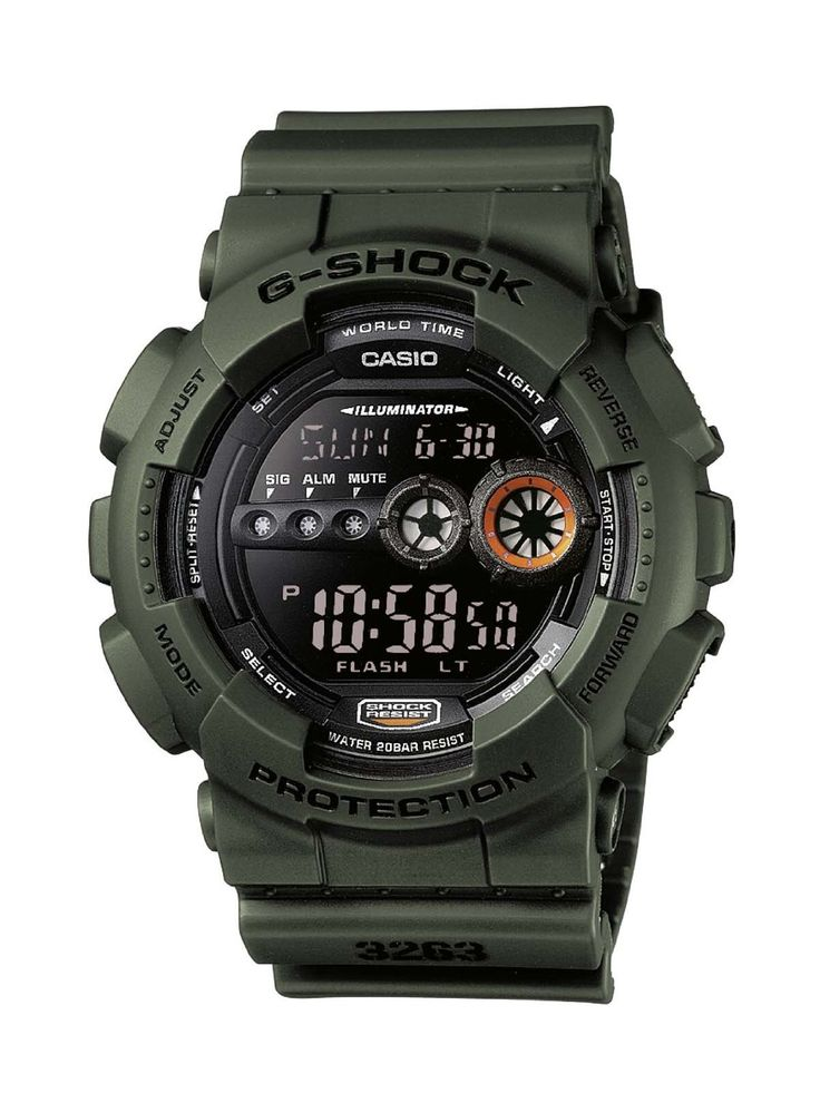 Casio G-Shock GD-100MS-3ER - Orologio da uomo: Amazon.it: Orologi