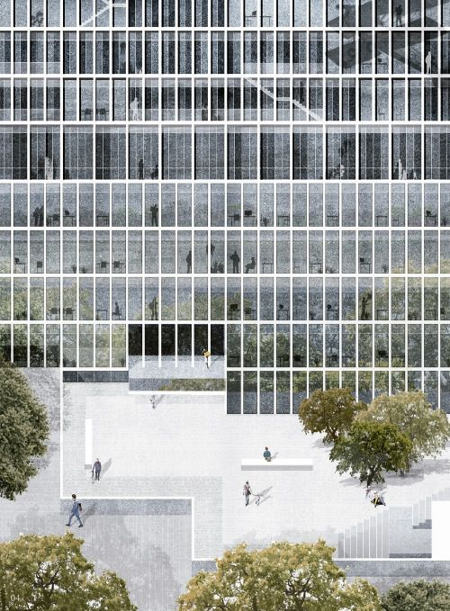 12 Offices that Use Collage to Create Architectural Atmospheres,Project: Sola Town Hall. Image Courtesy of Viar Estudio Arquitectura