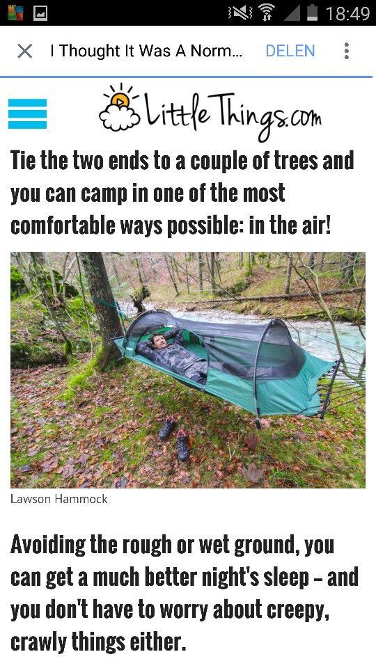 Tent hangmat