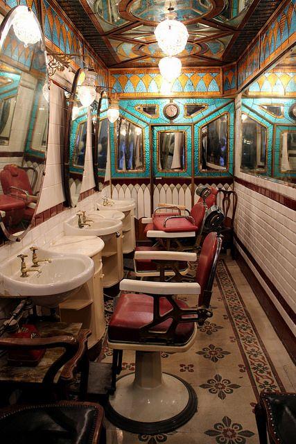 I restauri dell'Antica barberia Giacalone, foto Archivio FAI | by FAI - Fondo Ambiente Italiano, via Flickr