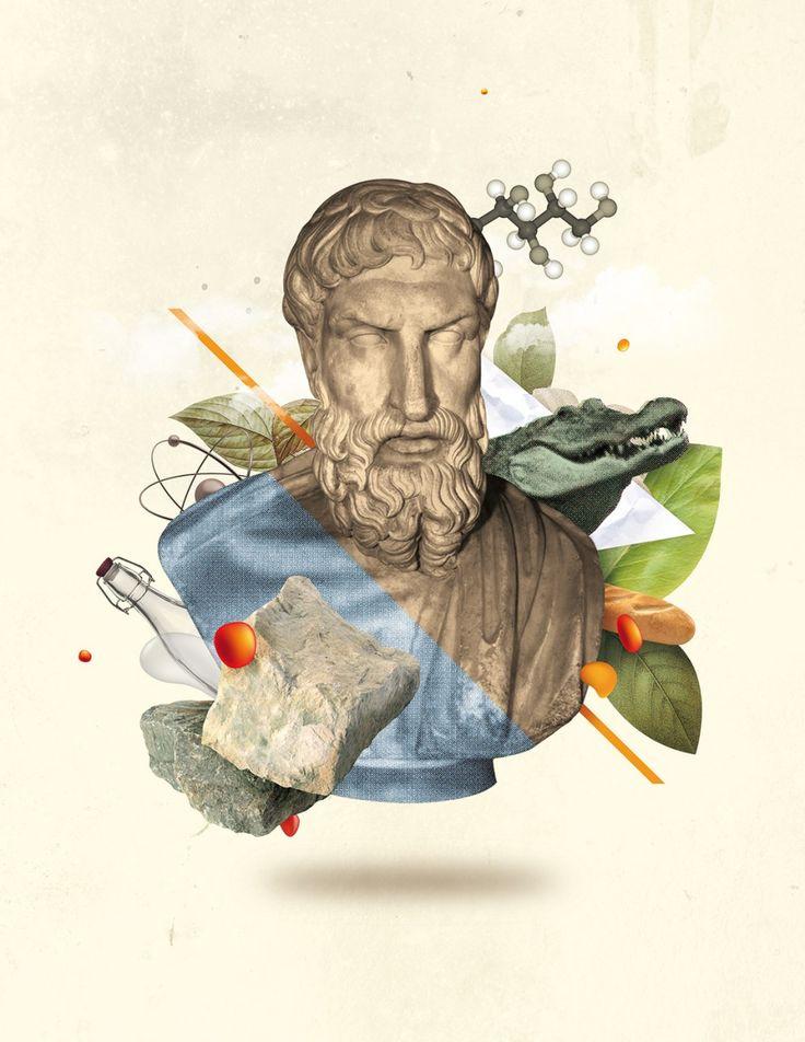 Philosophie Magazine Allemagne : Épicure + Nazario Graziano + Colagene, clinique créative