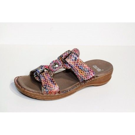 ARA tong hawaii multicolor livraison offert cardel-chaussures.com
