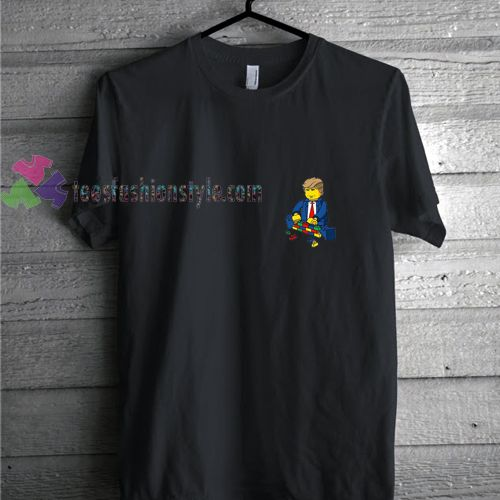 Donald Trump Lego t shirt gift tees unisex adult cool tee shirts