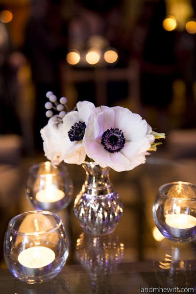 Love these #centerpieces - so simple yet bold @studiodbi