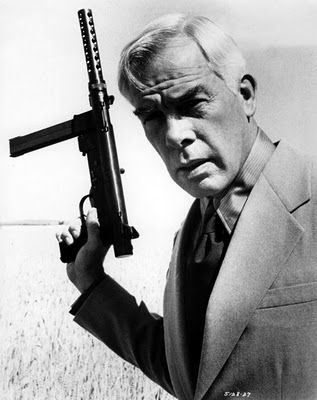 PRIME CUT (1972) - Lee Marvin - Gene Hackman - Sissy Spacek - Angel Tompkins - Directed by Michael Ritchie - Publicity Still.