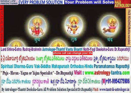 Astrologer in Hyderabad Andhra Pradesh horoscope vastu tantra remedies match-making compatibility