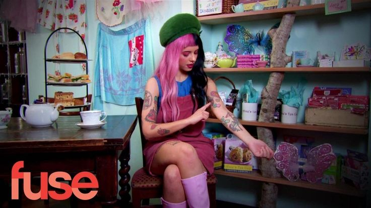 Melanie Martinez Shares The Stories Behind Her Coolest Tattoos - YouTube