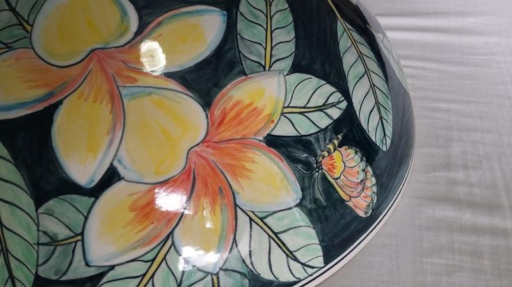 http://ebay.eu/2lbpNWi  Beautiful hand painted porcelain wash basins. FREE WORLD WIDE POST.  Hello, thanks for liking my posts.