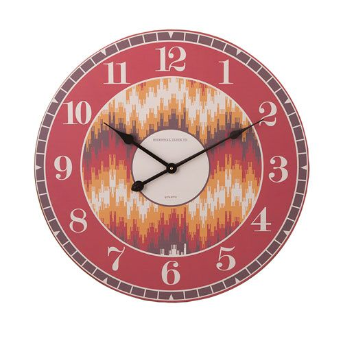 Essentials Energetic Orange Wall Clock