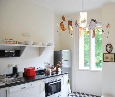 Black & White's kitchen
