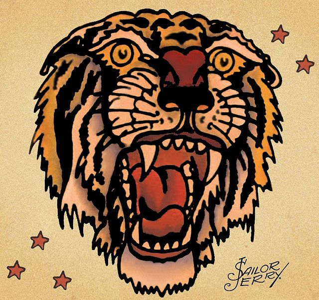 tiger sailor jerry