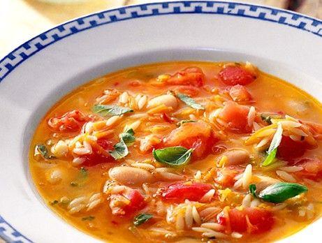 tomatsoppa med risoni