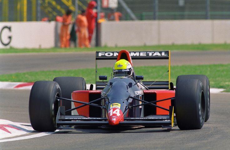 1992 GP San Marino (Imola) Fondmetal GR01 - Ford (Andrea Chiesa)