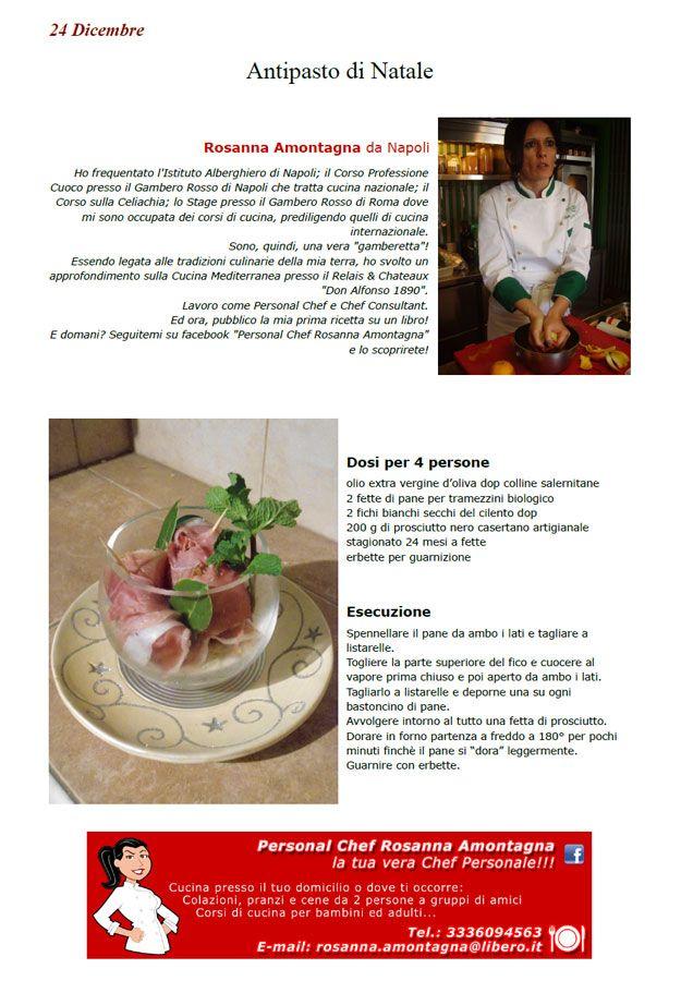 Antipasto di Natale - ricetta inserita da Rosanna Amontagna