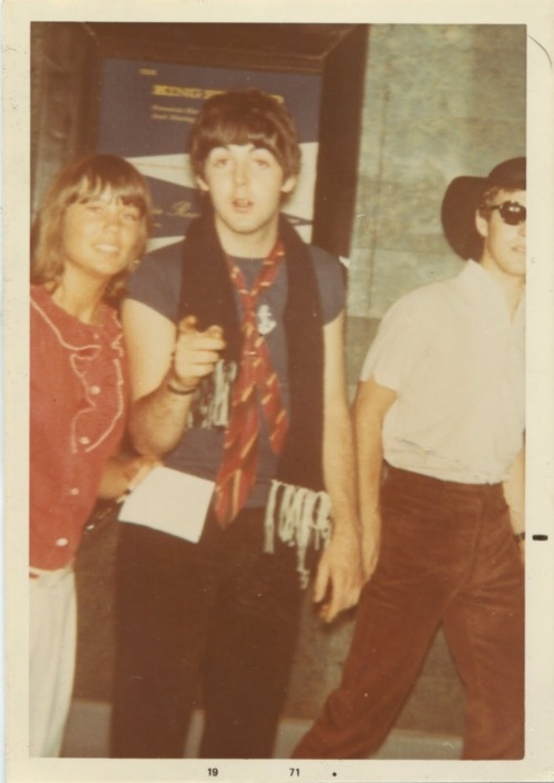 Paul in a polaroid