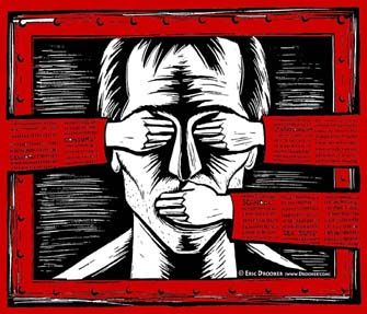 The problem with censorship is-------------------------