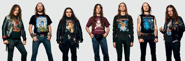 James Mollison: Iron Maiden