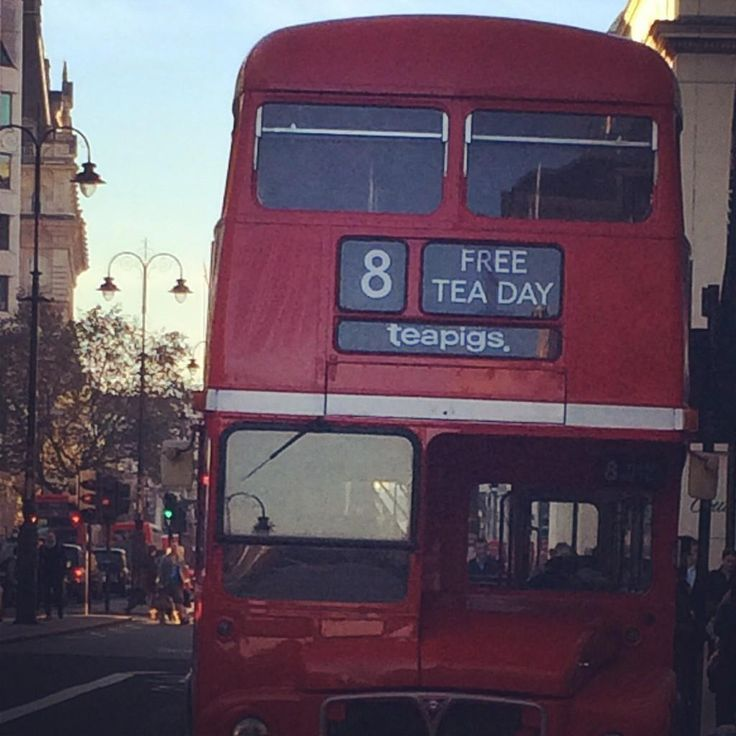 We gave away 10,000 free bags of tea to celebrate #teapigsfreeteaday - include a few thousand direct from the teapigs routemaster!
